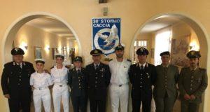 La squadra italiana al 36 Stormo