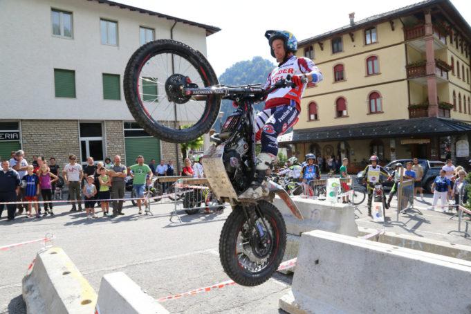 Matteo Grattarola Campione Italiano Trial Outdoor classe TR1