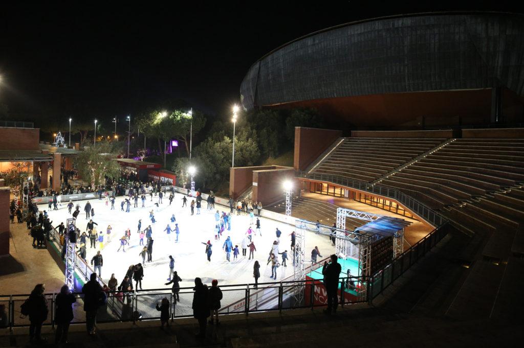 Inverno Incantato-Ice Park, l'8 dicembre inaugurazione all'Auditorium di Roma