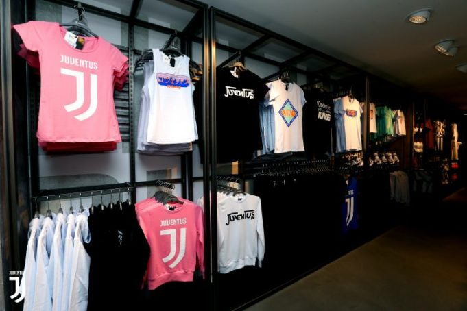 Roma , ITALY - AUGUST 31: A general view of the Juventus Store Roma City Center new opening at Roma on AUGUST 31, 2018 in Roma, Italy. (Photo by Paolo Bruno/Getty Images)