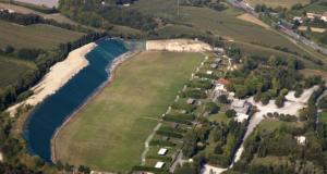 L'impianto sportivo Concaverde di Lonato del Garda