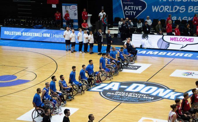 Il Gruppo azzurro durante gli ultimi Mondiali di Amburgo