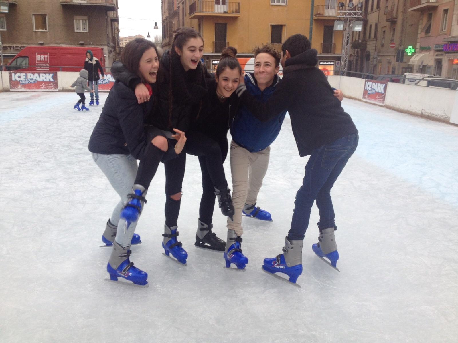 Pattinaggio, Roma, Ice park attivo anche a piazza San Giovanni Battista de La Salle