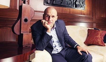 L'imprenditore ucraino Grigorishin - in una foto tratta dal web.