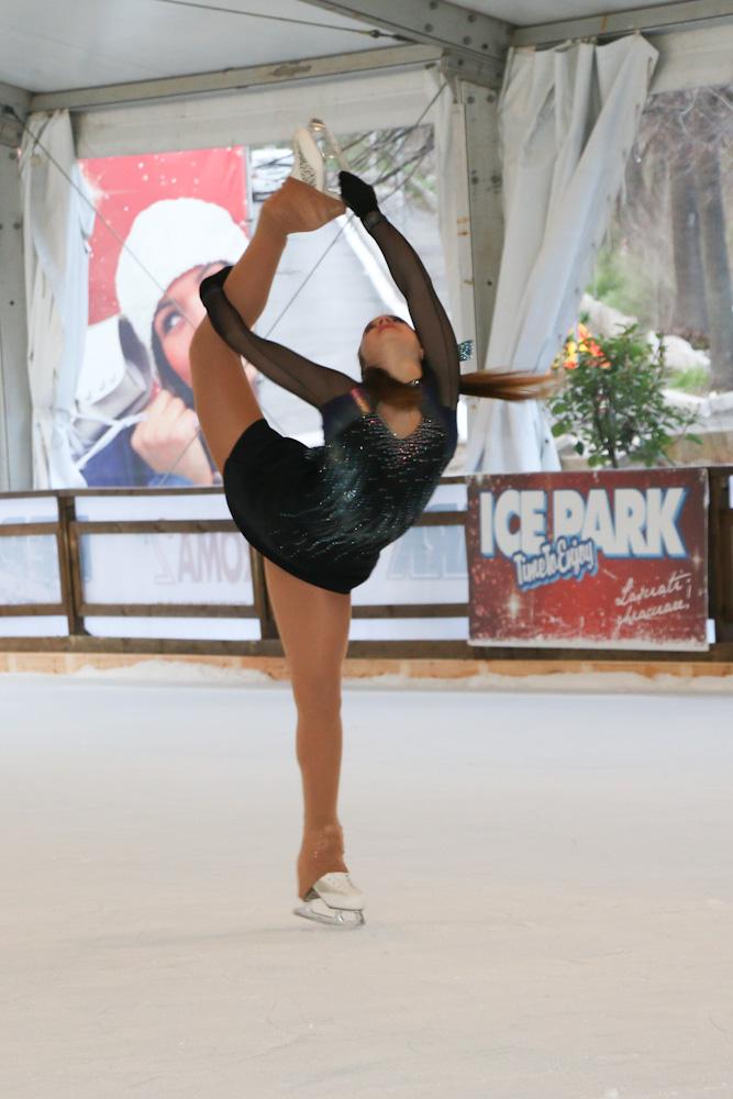 Ice Park, Roma, Auditorium, arriva (sul ghiaccio) la star Nefer Anania