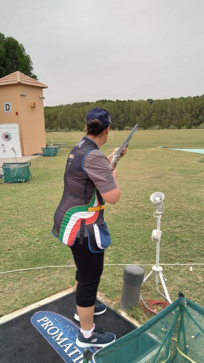 Diana Bacosi in pedana ad Al Ain
