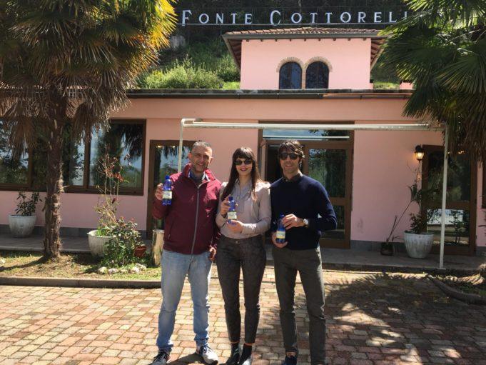 Nella foto, da sinistra a destra: Fabio Tortosa (Consigliere Federale FIDAF), Matilde Eloisa Pitorri (Consigliere Delegato Cottorella) e Fabrizio Rossi (Consigliere Federale FIDAF).