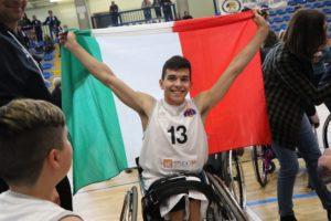 Mattia Scandolaro, capitano del Padova Millennium Basket Giovanile