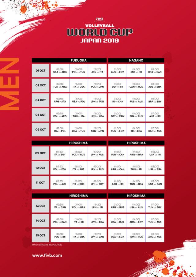 Volley Maschile Calendario.Volley Nazionale Maschile Definito Il Calendario Della