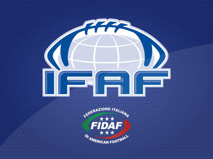 Fidaf, fase finale del campionato europeo Tackle nel 2021